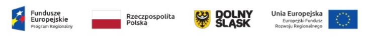 Logo Dolny Śląsk, Unia Europejska, FE i UE - Luxon LED
