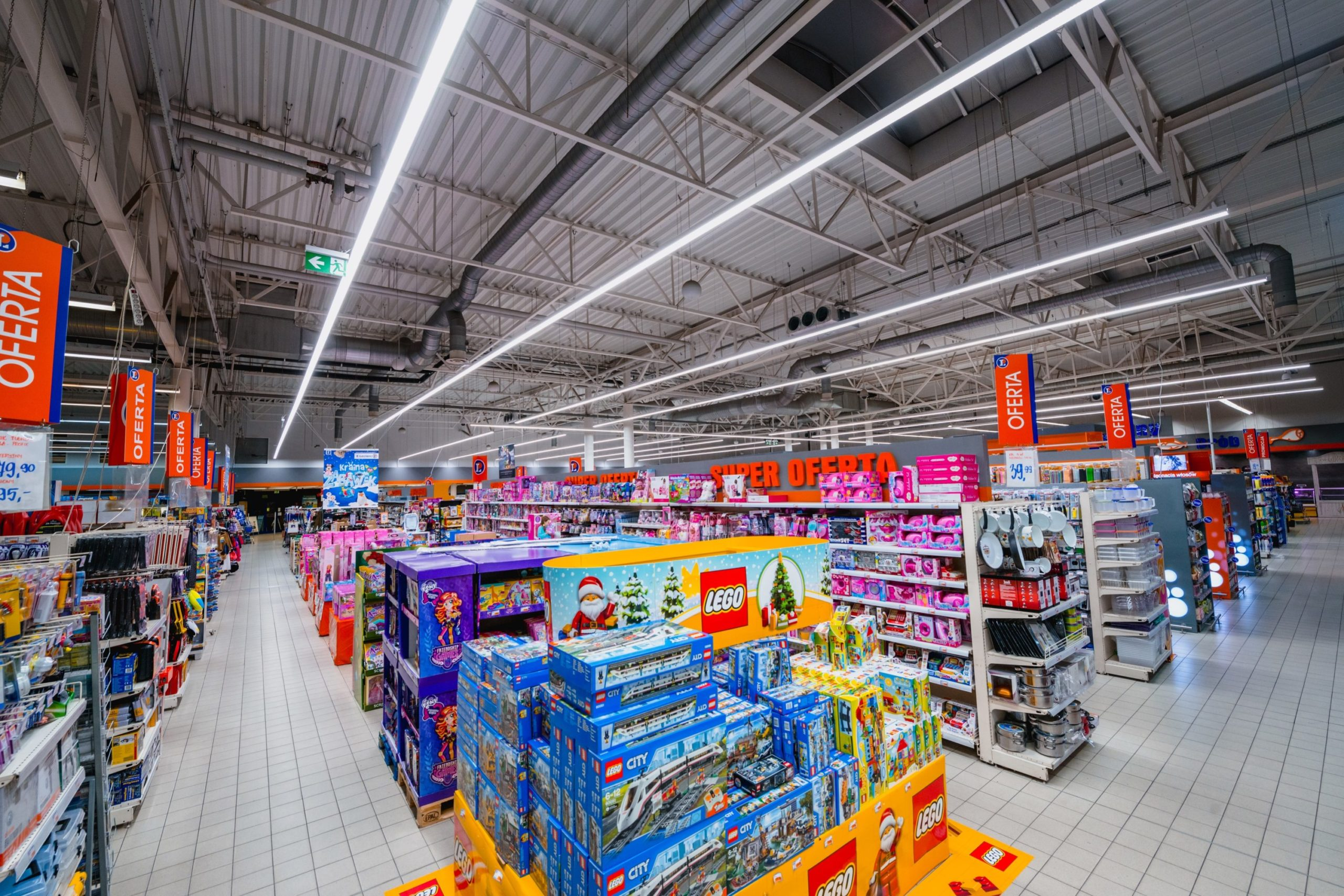 Oprawy Lumiline w sklepie Leclerc - Luxon LED