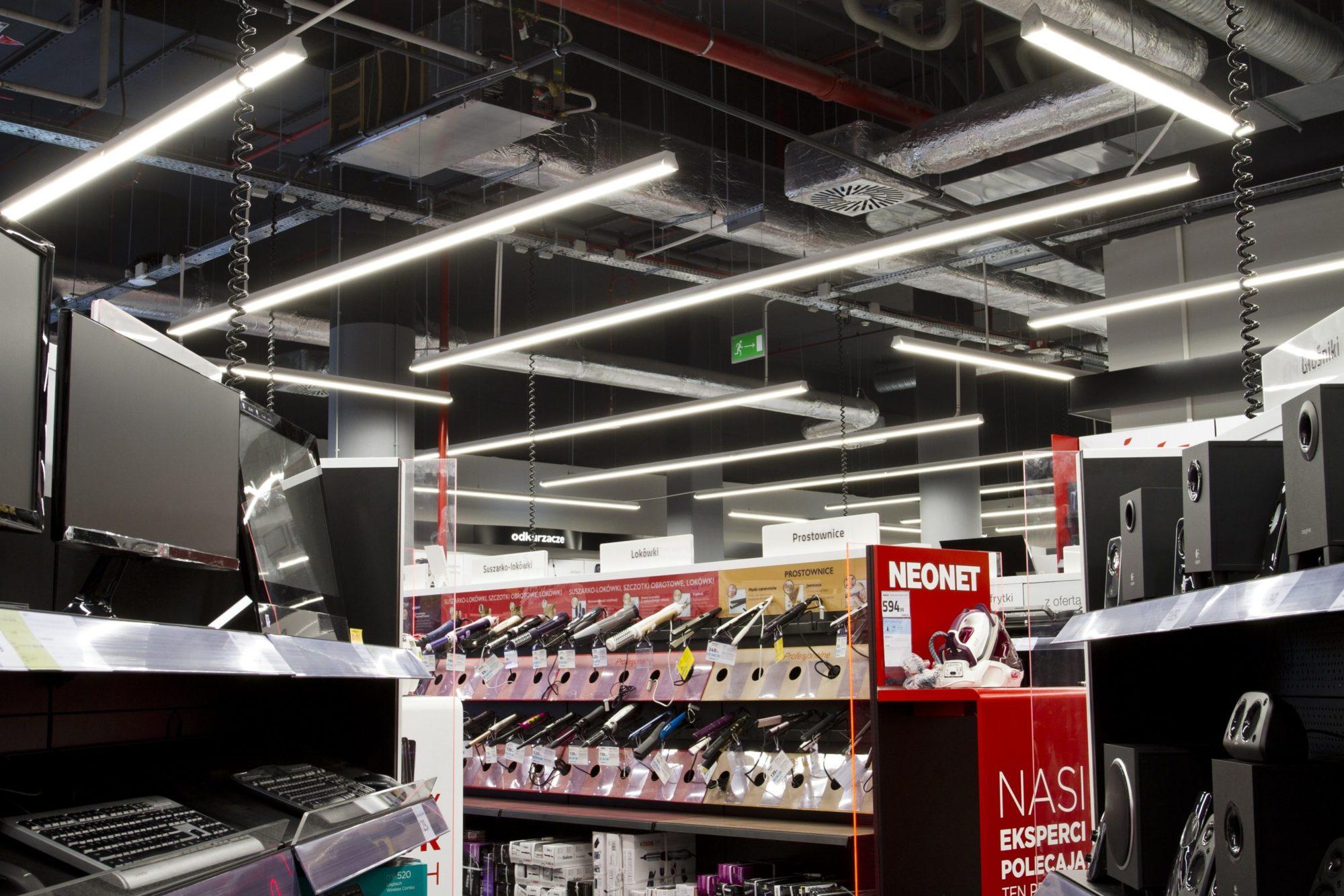 linie świetOprawy handlowe Lumline w sklepie Neonet - Luxon LEDlne w sklepie Neonet