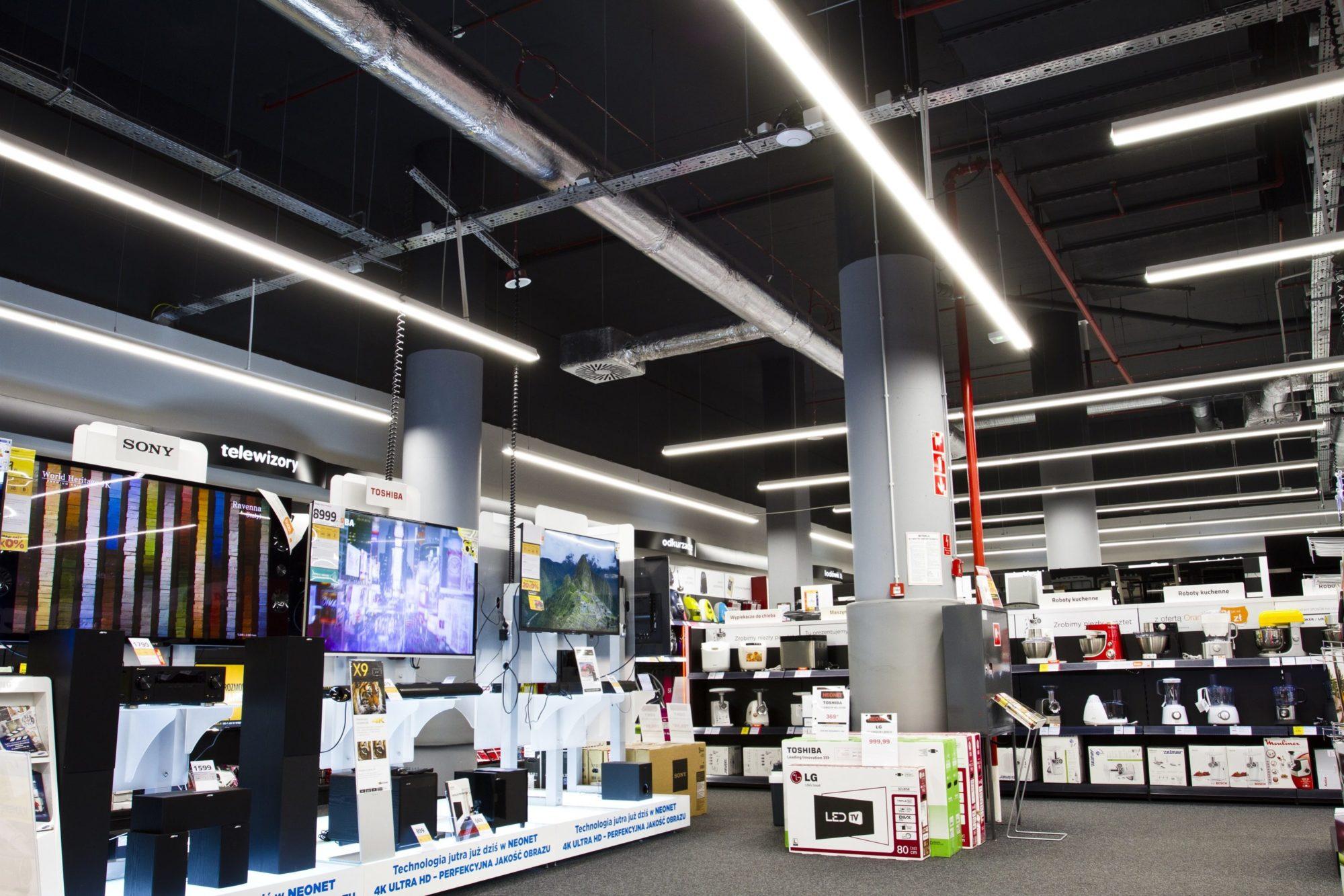 oprawy Lumiline w sklepieOprawy handlowe Lumiline w sklepie Neonet Neonet