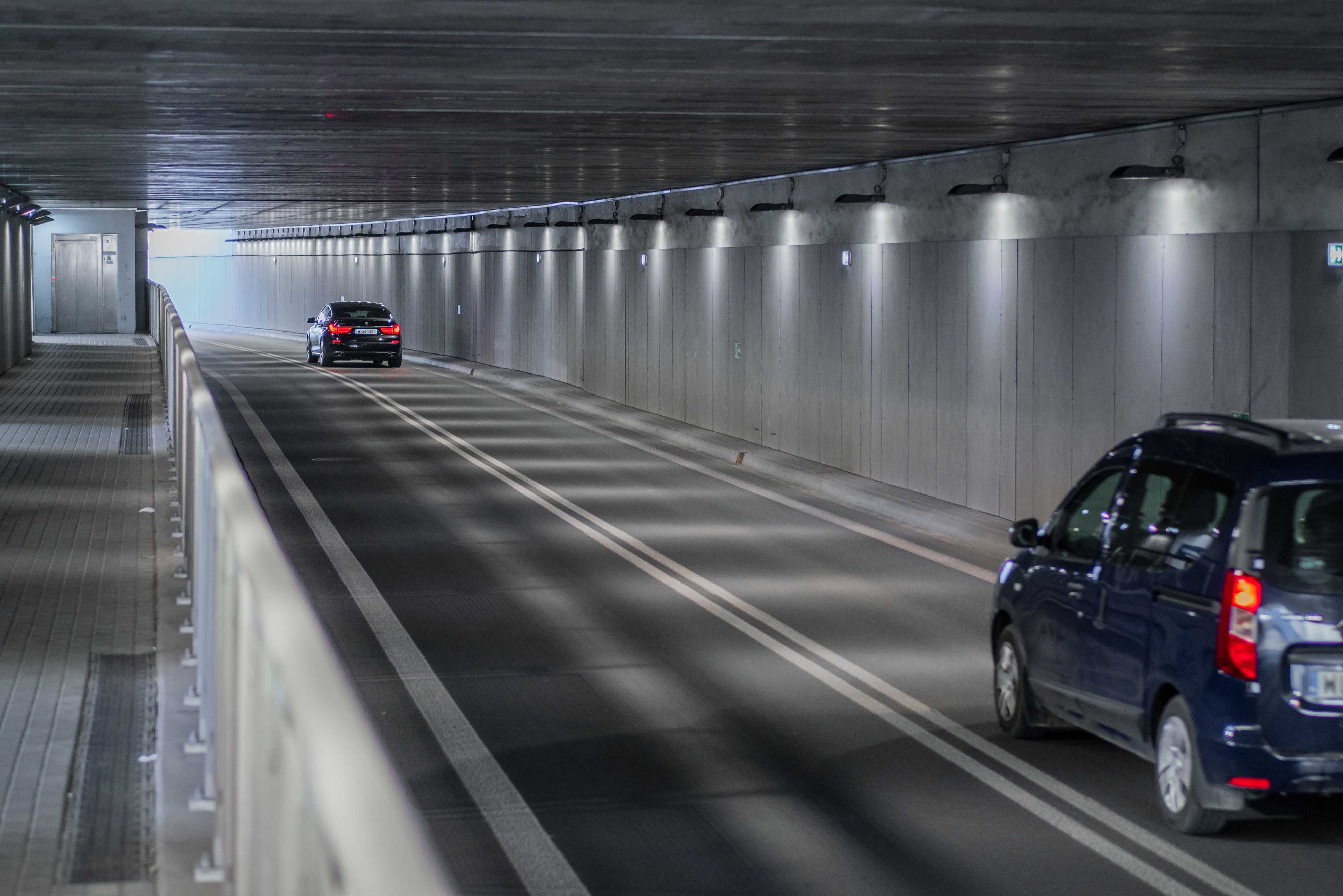 Comprehensive project of tunnel and external lighting for Kilińskiego Street in Siedlce