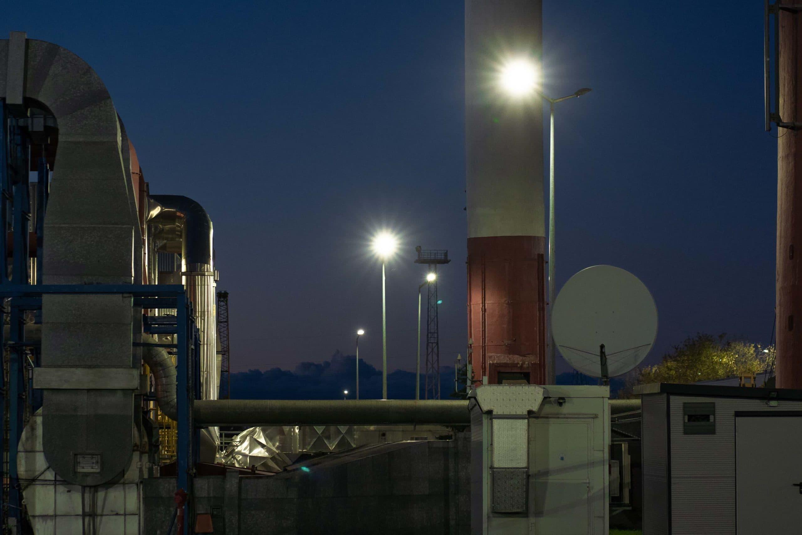 Oświetlenie dla Przedsiębiorstwa Energetyki Cieplnej